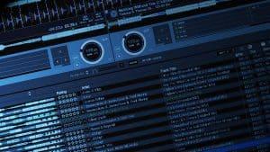 Screenshot of DJ software.