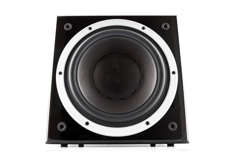 Photo of a subwoofer