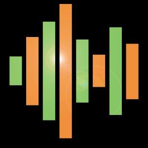 Home DJ Studio Logo Background