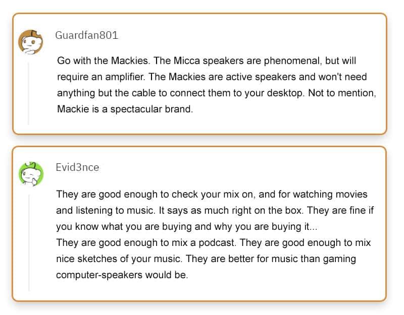Mackie CR3-X Reviews