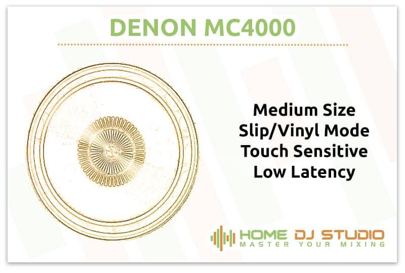 Denon MC4000 Jogwheels