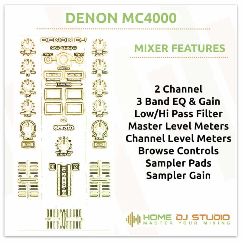 Denon MC4000 Mixer