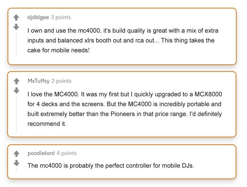 Denon MC4000 Reviews