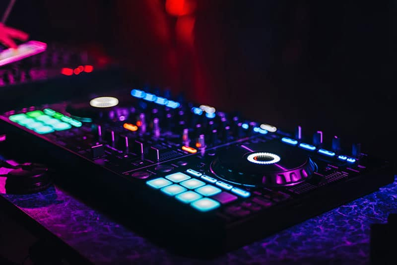 Pioneer controller in a club environment.