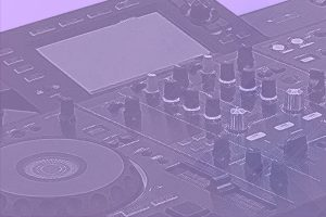Best All-In-One DJ Controller Background