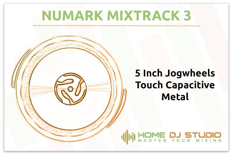 Numark Mixtrack 3 Jogwheels
