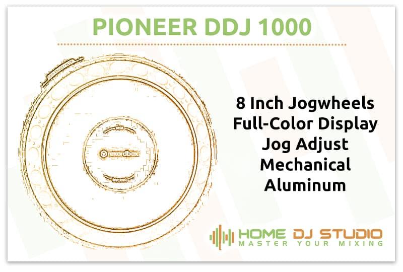 Pioneer DDJ 1000 Jogwheels
