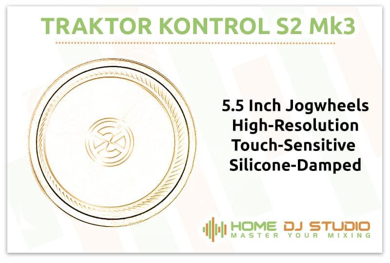 Traktor Kontrol S2 Mk3 Jogwheels