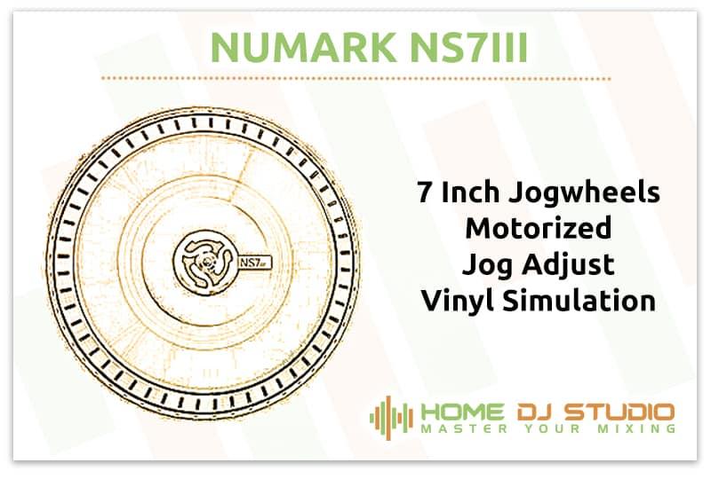 Numark NS7III Jogwheels