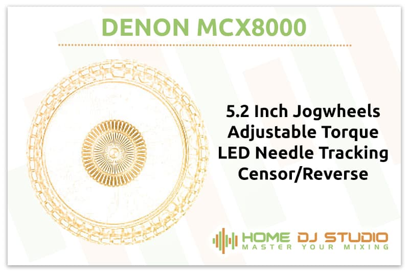 Denon MCX8000 Jogwheels