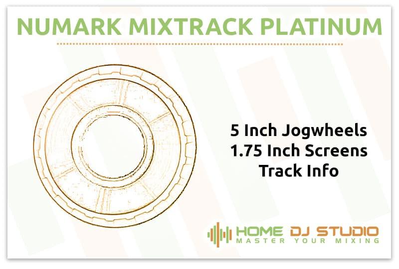 Numark Mixtrack Platinum Jogwheels