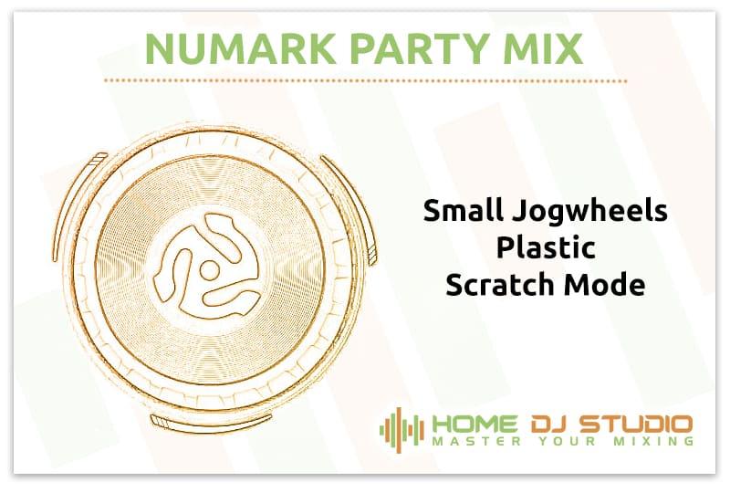 Numark Party Mix Jogwheels