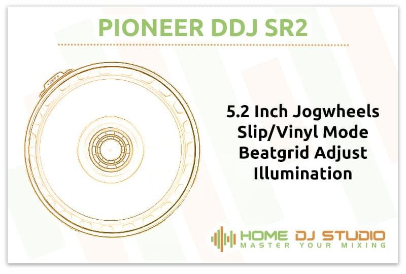 Pioneer DDJ SR2 Jogwheels
