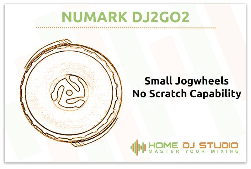 Numark DJ2GO2 Jogwheels