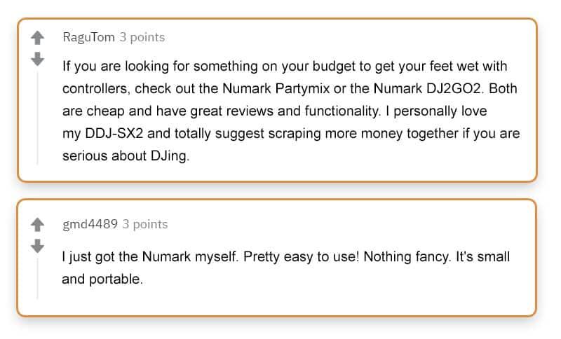 Numark DJ2GO2 Reviews