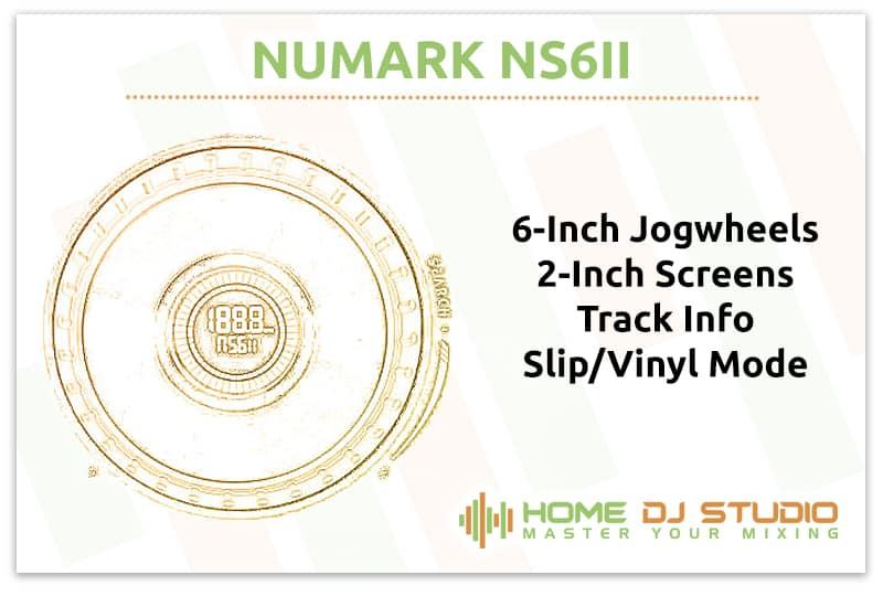 Numark NS6II Jogwheels