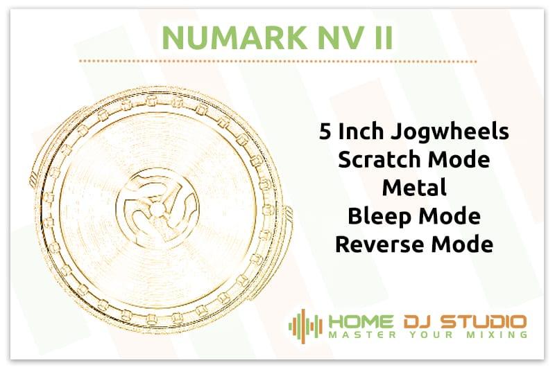 Numark NV II Jogwheels
