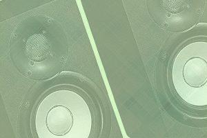 Best 5 Inch Studio Monitors Background