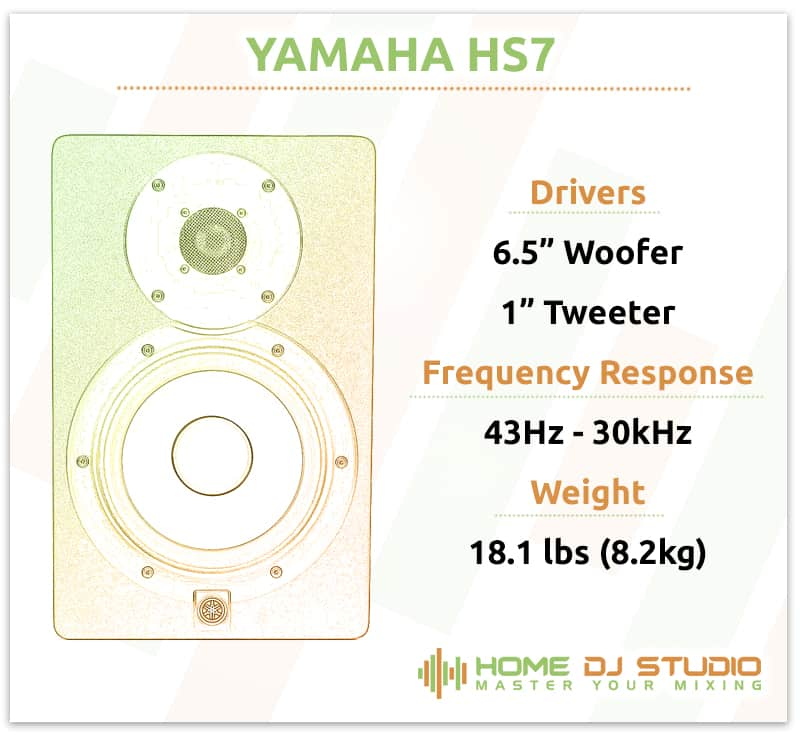 Yamaha HS7 Specifications