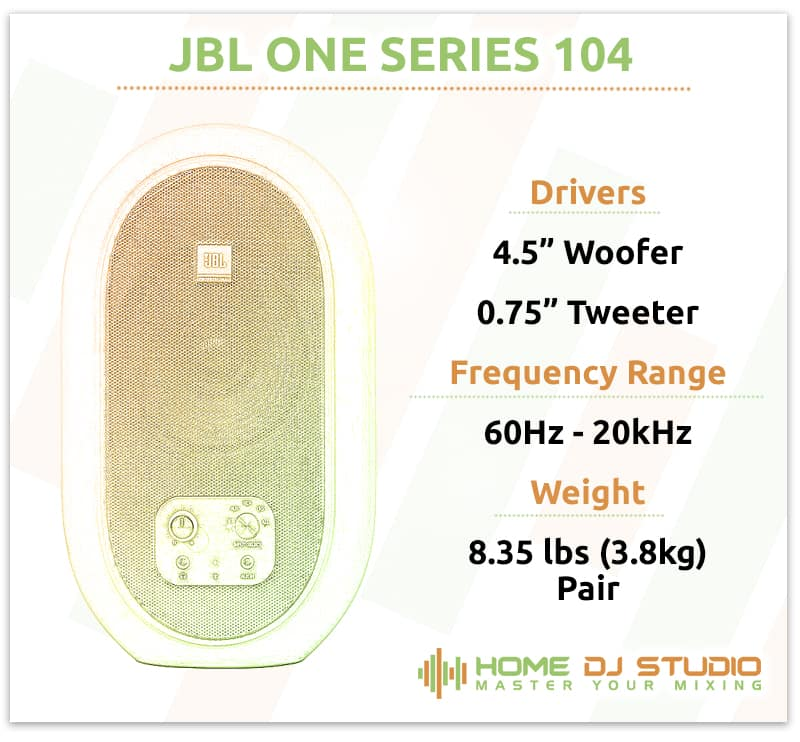 JBL One Series 104 Specifications