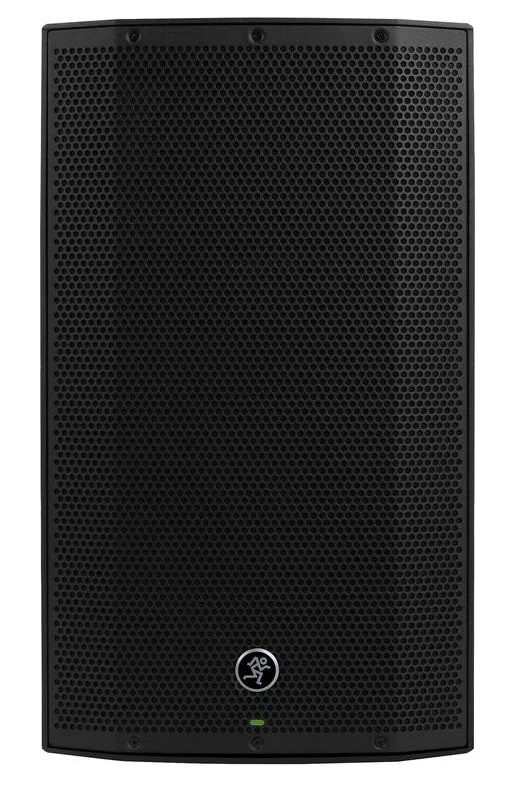 Front view of the Mackie Thump 12A speakers