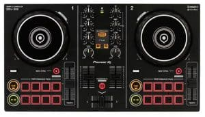 Top view of the Pioneer DDJ 200