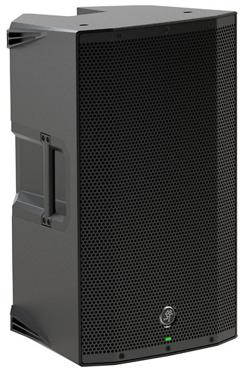 Three quarter view of the Mackie Thump 12A speaker
