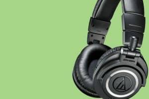 Audio-Technica ATH-M50X Background